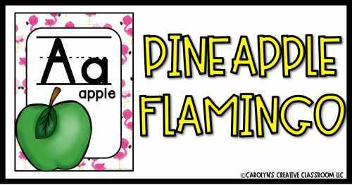 PINEAPPLE FLAMINGO